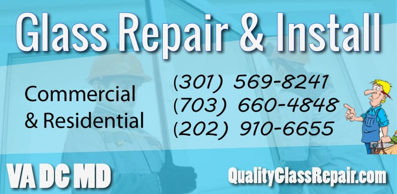 Virginia Glass Repairs NOVA
