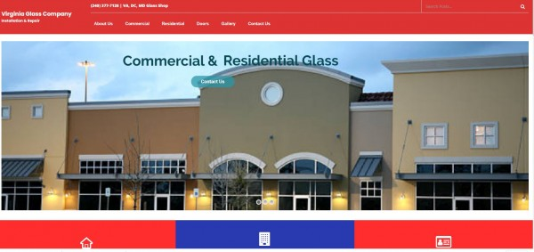 Glass Company Website